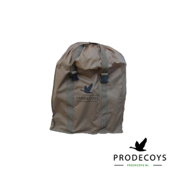 ganzenlokkertas voor het vervoeren van ganzenlokkers / decoy bag voor 6 full body ganzenlokkers